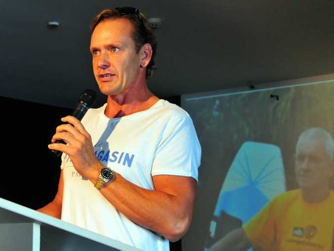 Former Ironman Champion and original Coolangatta Gold winner Guy Leech pays tribute to pays tribute to Alan Coates.