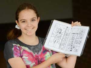 Power of the pen soothes tragedy for talented student