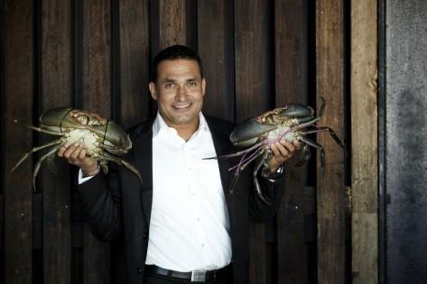 Chef, author and TV presenter Peter Kuruvita