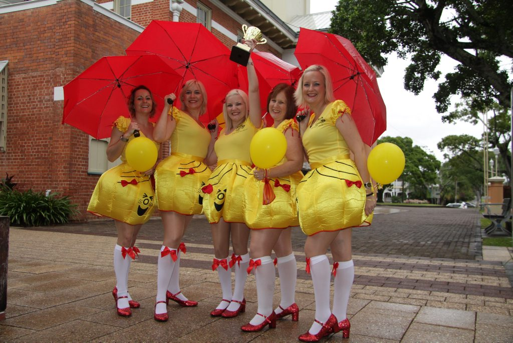 The Little Miss Sunshines won a team category at the Pub Fest last year.