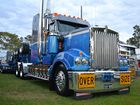 Some of the trucks at the Penrith Working Truck Show this year. Photo Contributed by Ian Lee