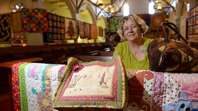Handiwork on show at quilt and craft event queensland times for Quilt and craft show
