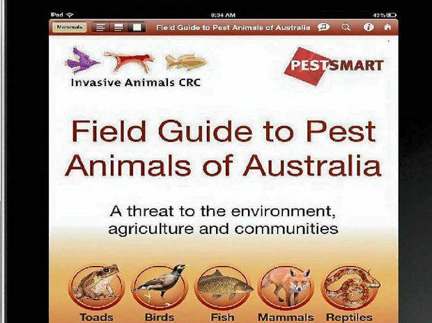 USEFUL: The pest animals app.