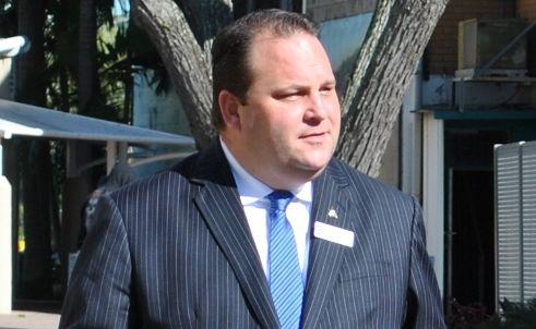 Embattled former Queensland MP Scott Driscoll.