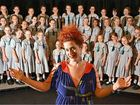 The Sunshine Coast's own Katie Noonan, who made her name singing with Brisbane band George, will perform at Matthew Flinders Anglican College with the school's 70-voice choir.