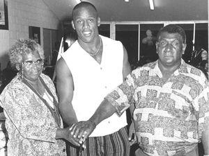 Wendell Sailor celebrates birthday in Sarina