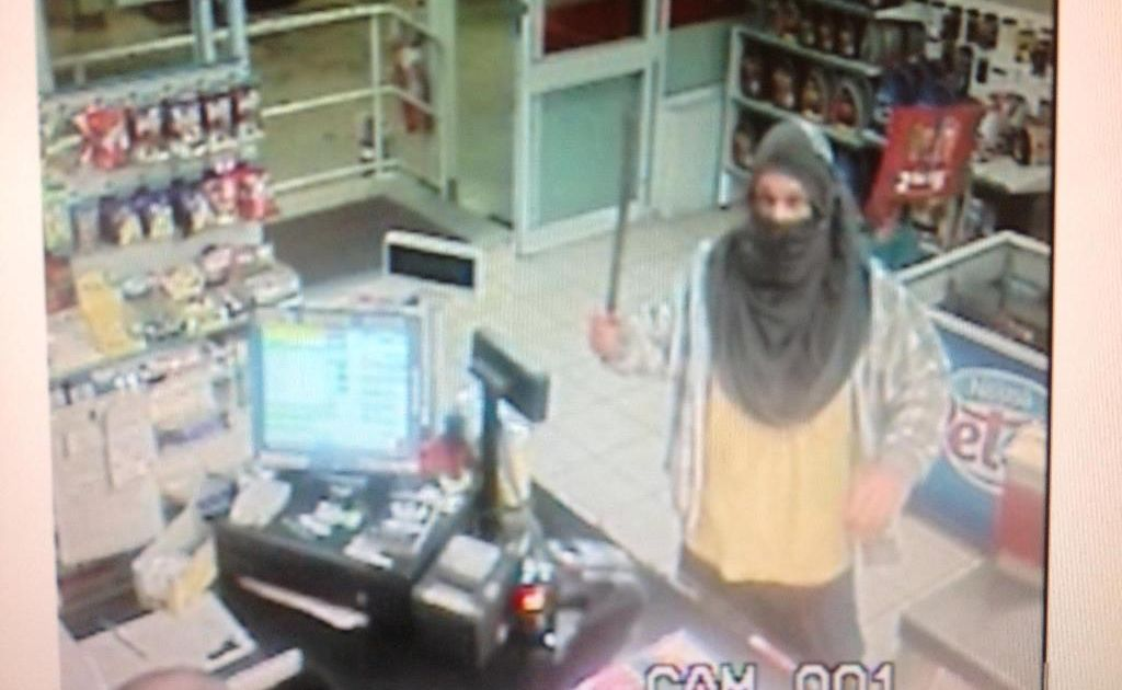 CCTV footage taken from the attempted armed robbery at Caltex, South Grafton in July 2012