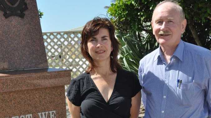 Greens candidate for Richmond Dawn Walker with Fair Go local campaign leader John Bushell.
