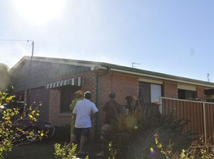 Neighbour's swift actions help save unit from fire