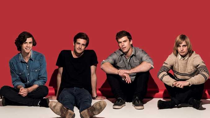 The Rubens are playing in Toowoomba this weekend.