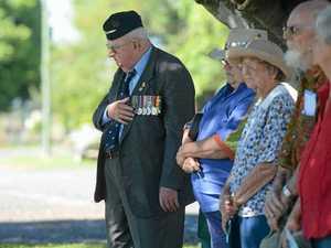 Second World War veteran honours comrades at services