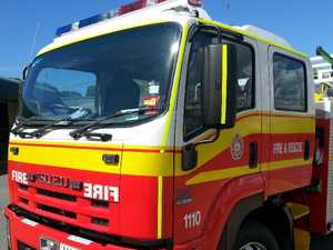 Two taken to hospital after bedroom fire
