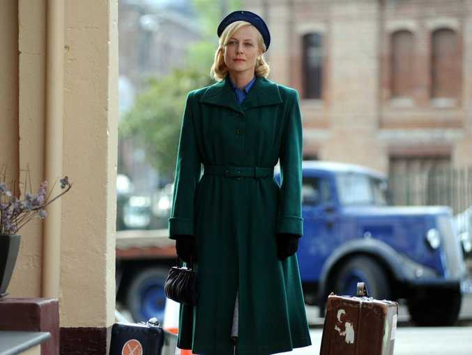 Marta Dusseldorp in a scene from the TV series A Place To Call Home.