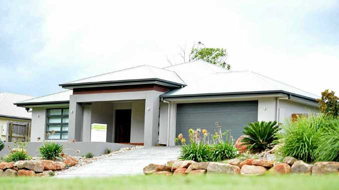 A house for sale within the Aspect Estate on Gympie's Southside. Newly released data shows an average decline in property values over five years.