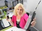 TIME MACHINE: Diann Platt has a large collection of old mobile phones.
