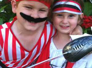 Clermont pirate fun day for families with cancer