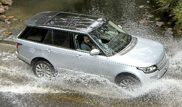 The all new Range Rover.