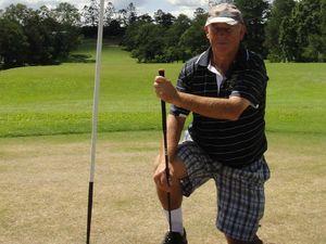 Veteran golfer tees up A-grade victory