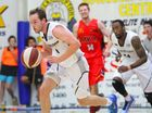 Rockets player Mitch Philp in the pre-season basketball game against Mackay. Photo: Chris Ison / The Morning Bulletin