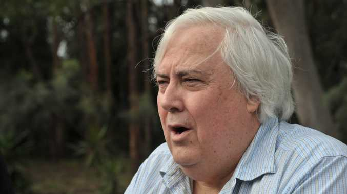 Clive Palmer... wants more staff for PUP