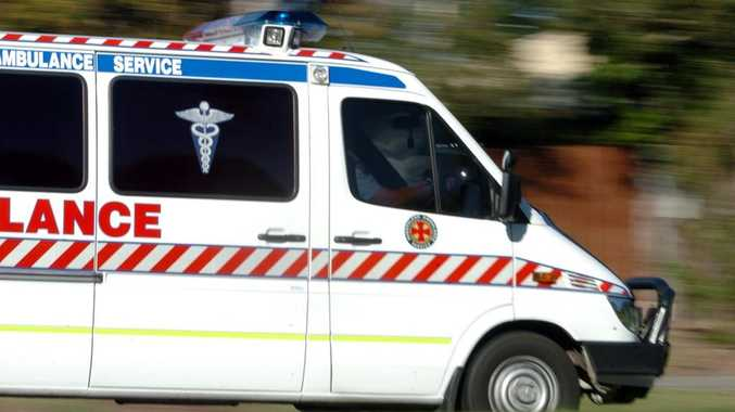 A teen has been taken to Lady Cilento Children's Hospital follow a car crash.