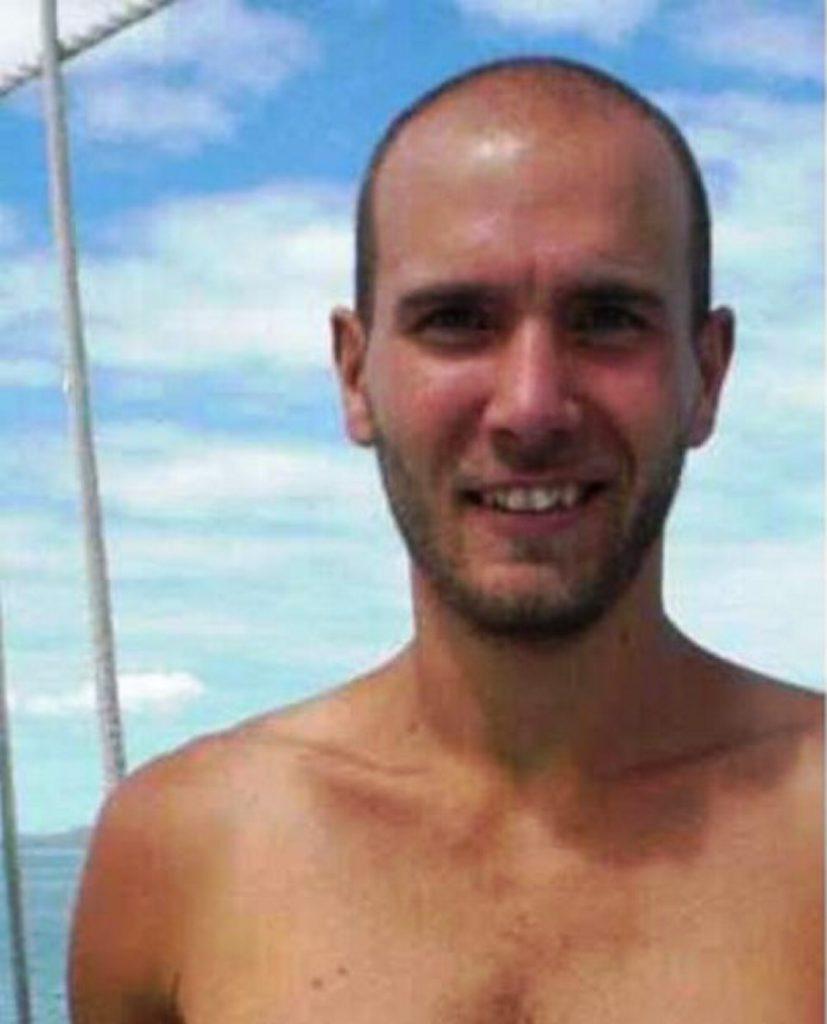 Missing man 28-year-old Hungarian national Patrik Merl.