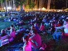 Artists wow crowd before film fest at botanic gardens