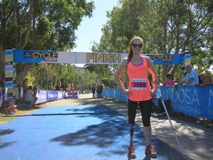 Cyborg Miranda ticks off first fitness goal at Noosa