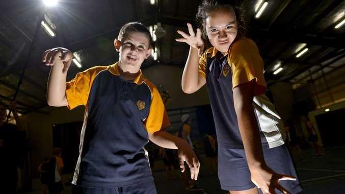 Jordan Daley, 13 and Ella Maltand, 13