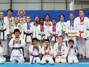 21 return with 53 medals from karate championships