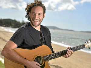 Muso Matt Barker is back after touring Tassie with his band