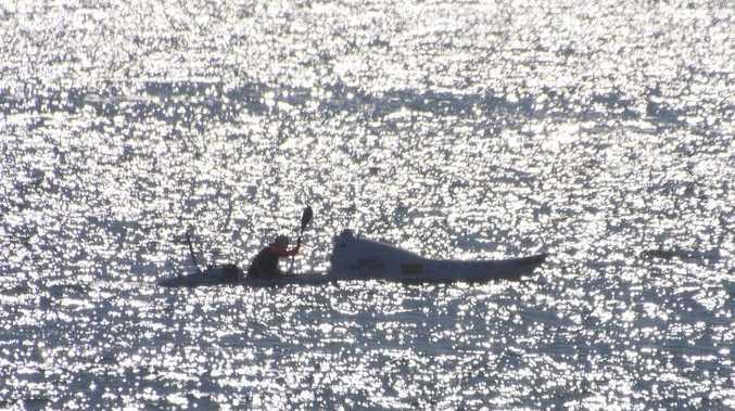 Kiwi kayaker Scott Donaldson.