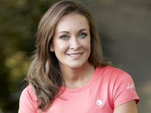 Fitness guru Michelle Bridges stirs up farmers