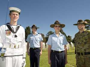 St Mary's College Anzac service