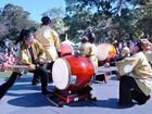 The Kizuna Gold Coast Taiko drummers will be performing this Sunday at the Japanese Festival of Children's Day.