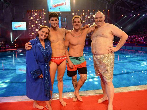 Tonight's winners: Denise Drysdale, Nick Bracks, Koby Abberton and Adam Richard.