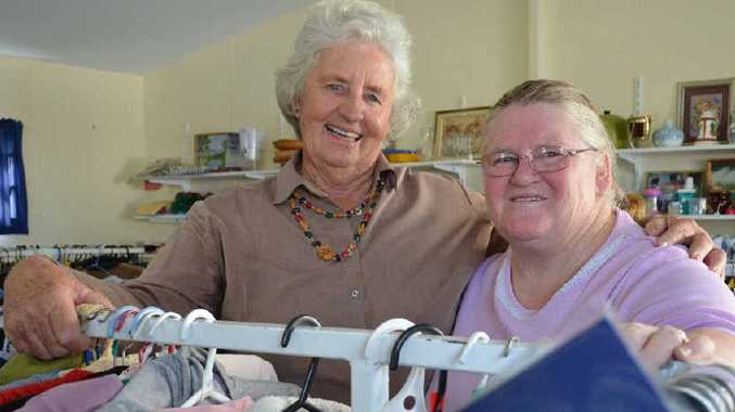 TREASURE KEEPERS: Janice Hayward and Dianne Bourke say you never know what you will find.