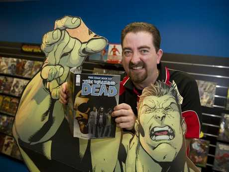 Todd Baillie of Kaboom Comics is looking forward to World Free Comic Book Day.
