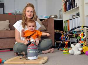 Family with baby powerless and in the dark after errors