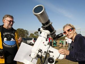 Eclipse viewing inspires astronomers to reach for the stars