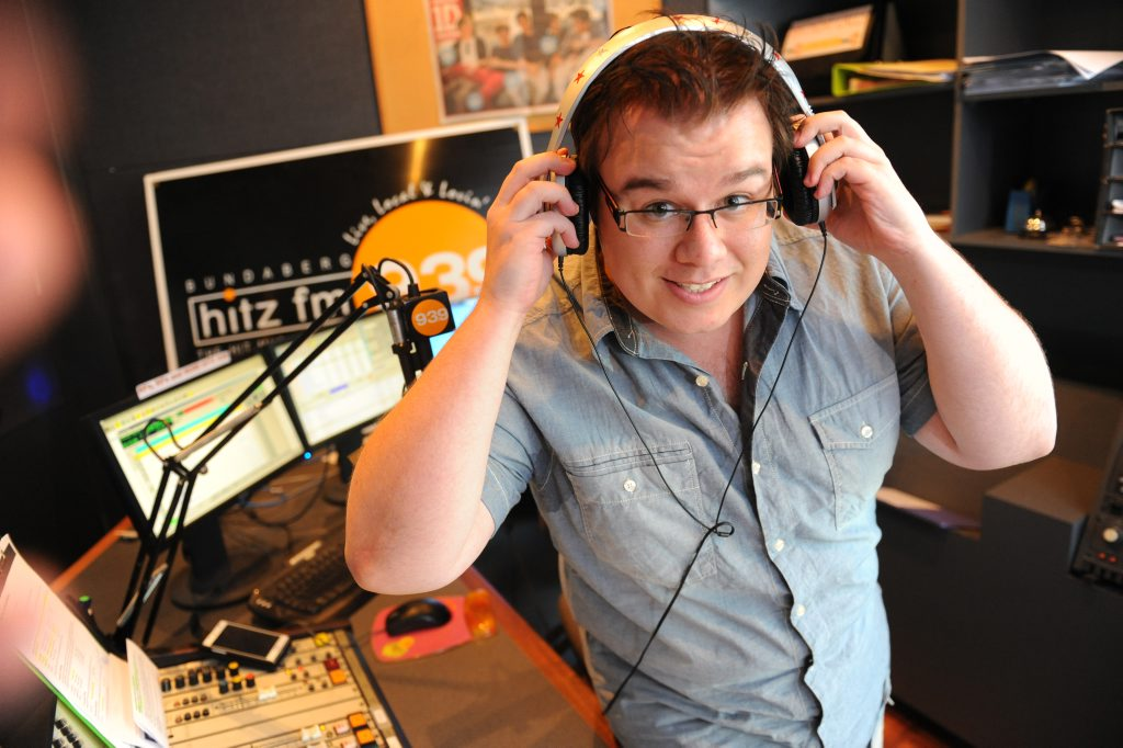 NEW ADVENTURE: Damien Haffenden is leaving Hitz FM for a new radio job in New South Wales. Photo: Mike Knott / NewsMail