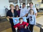 Dream comes true for young cancer fighter Mitchell