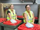 FRESH START: Paula Tangney and Misti Tatana started the Bin Biz service, providing inside and out cleaning of wheelie bins.