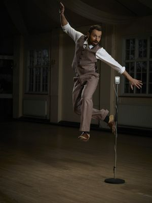 British rockabilly/swing entertainer Si Cranstoun will headline at Cooly Rocks On 2013. Photo: Adam Lawrence