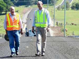 Power Rd work stalls due to wet season