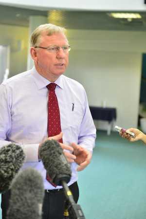 Deputy Premier Jeff Seeney attended the Gladstone Healthy Harbour Partnership Meeting.