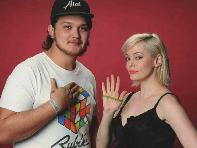 Kieran Vakatini and Rose McGowan join the cause for Shandee Blackburn.