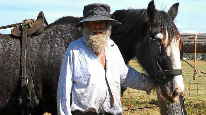 Mick Bradford is preparing his horses for the big event on Sunday.