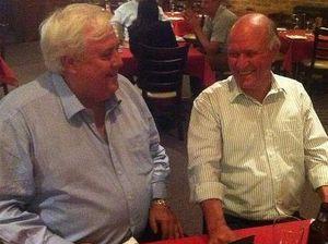 Tony Windsor tweet sparks Clive Palmer defection talk