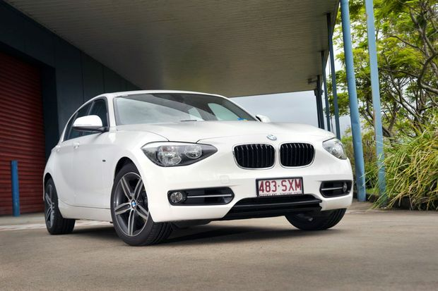The BMW 1 Series with Sport Line pack.